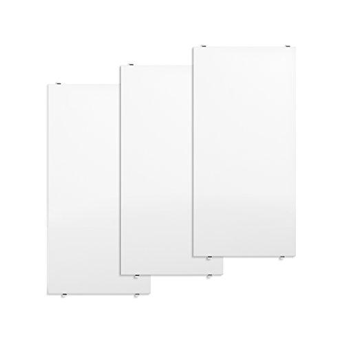 String System Regalböden 3er Set 58x30cm, weiß lackiert BxHxT 58x2x30cm