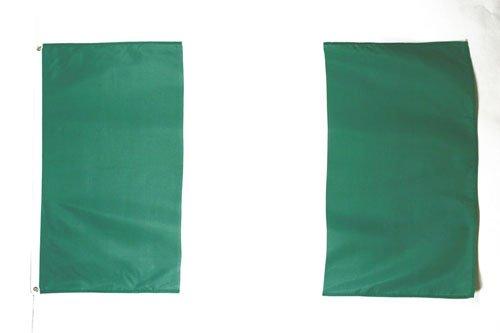 AZ FLAG Flagge Nigeria 150x90cm - NIGERIANISCHE Fahne 90 x 150 cm feiner Polyester - flaggen