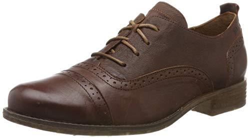 Josef Seibel Sienna 73, Zapatos de Cordones Derby para Mujer, Braun Camel 720 240-Cepillo de Dientes eléctrico, 43 EU