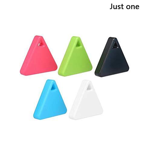 Joe Boxer Haustiere Smart-Mini-GPS-Tracker Anti-Verlorene Wasserdichtes Bluetooth Tracer Keys Alarm Platz Locator Realtime Finder Ausstattung Gerät,Rosa