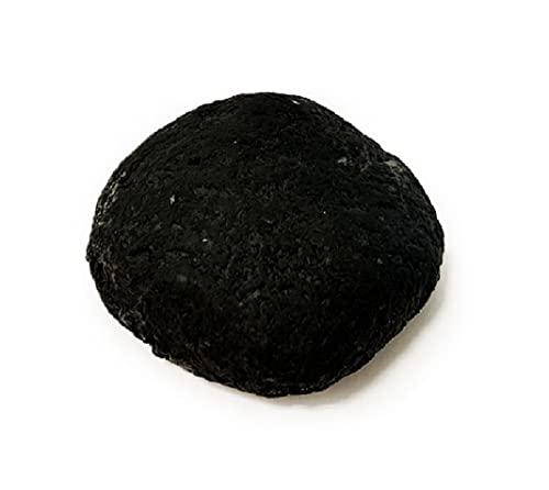 Detox - Champú sólido para barba y cabello con carbón activo y niquelado, 80 g, 100 % natural, vegetal y moldeado a mano.