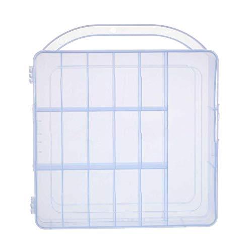zyl Nagellack Kosmetik Aufbewahrungshalter Acryl 30 Flaschen Klarer Nagellack Organizer Box Display Box Frau Beauty Case