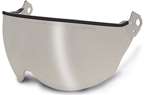 Cask beschermend vizier V2 vizier voor plasma industriële helm, uitvoering: zilver spiegel