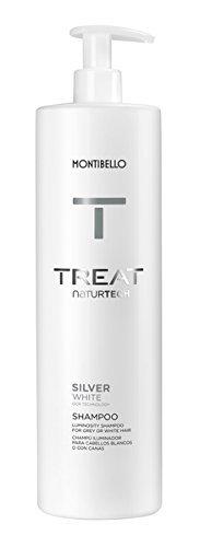 Montibello Treat Naturtech Silver White Shampoo 1000ml by Montibello