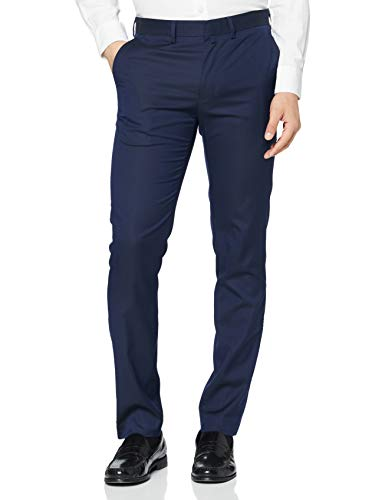 Celio ROMUALD Pantalon slim, Homme, Bleu (Bleu Bleu), 48 EU