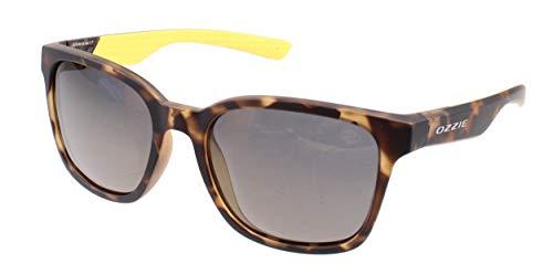 Ozzie Sonnenbrille Sport Damen Kat.3 Wanderer braun/gelb