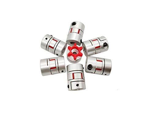 QINGRUI Tool Accessories 1Pc / Jaw Kupplung D30mm L40mm 8x8mm 9mm 10mm 11mm 12mm 13mm...