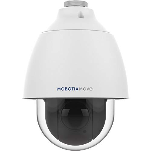 Mobotix MX-SD1A-330 Dome IP beveiligingscamera zwart wit MX-SD1A-330, IP-beveiligingscamera, dome, zwart, wit, plafond/wand/palen, bescherming tegen vandalisme, metaal,