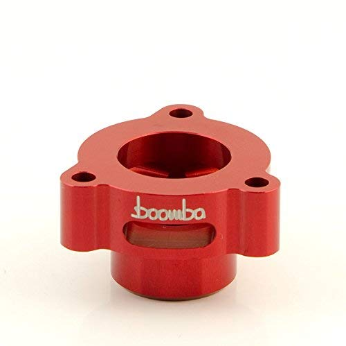Boomba Racing BLOW OFF VALVE ADAPTOR RED for FORD MUSTANG ECOBOOST
