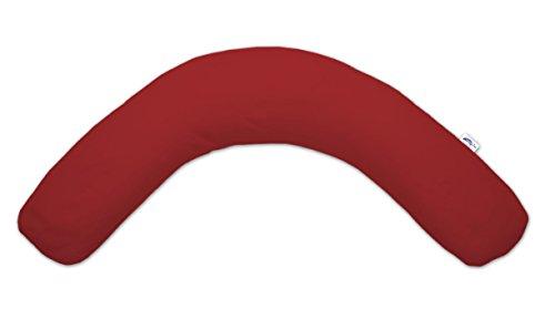 Theraline 52002400 Bezug für das Komfort Stillkissen 180 cm Jersey, rot