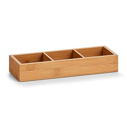 Zeller 13335 Ordnungsbox, Bamboo, ca. 28 x 10,2 x 4,5 cm