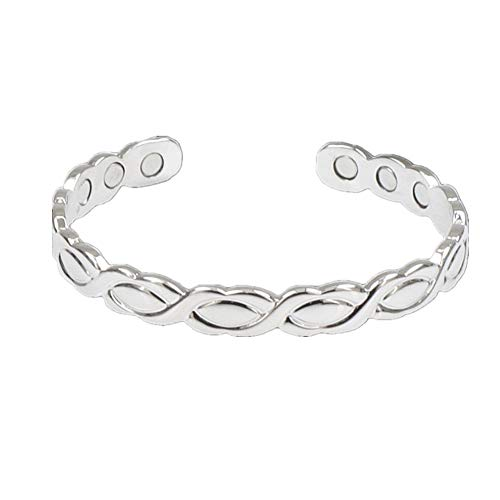 DUOBANGS Bangle Arthritis Bracelets Relief Carpal Tunnel Healing Pain Therapy Weight Loss Men and Women Menopause Magnets Bangles Magnetic Bracelet Bracelets