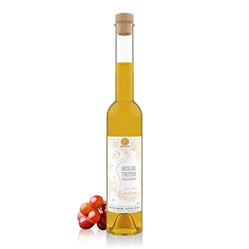 TROPFEN KONTOR Riesling Trester (0,5 l) Weinbrand 42% vol. Schnaps Traubenbrand Hochprozentiger Alkohol