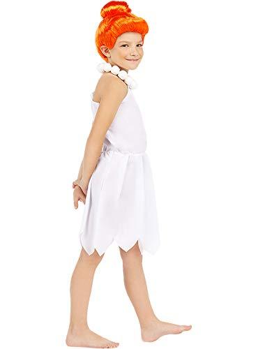Funidelia | Disfraz de Vilma Picapiedra - Los Picapiedra Oficial para niña Talla 3-4 años ▶ The Flintstones, Dibujos Animados, Los Picapiedra, Cavernícolas