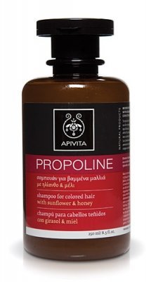 APIVITA propoline Champú for colored Hair with Sunflower & Honey 250 ml