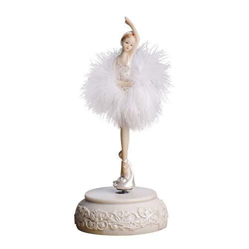 WPCBAA Elegante ballerina dansgirl muziekbox zwanenzee carrousel veer musical Box bruiloft verjaardag cadeau voor meisjes vriend
