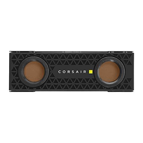 Corsair Hydro X Series XM2 Waterblock per SSD M.2, SSD M.2 Circuito di Raffreddamento Personalizzato, Piastra di Raffreddamento in Rame, Installazione Semplice e Veloce, Nero
