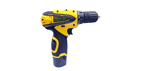 Cheston 10 mm Dual Speed Keyless Chuck 12V Cordless Drill/Screwdriver with 2 Batteries