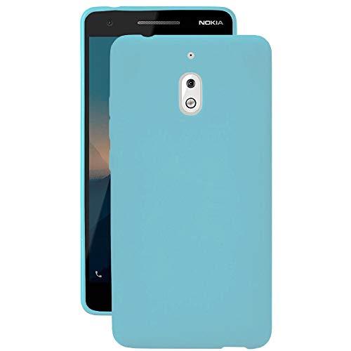 United Case Guscio Anticaduta per Nokia 2.1 | Turchese | Silicone TPU Sottile e Leggero