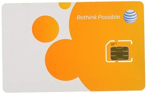 AT&T 3G プリペイド Micro SIMカード for iPhone 4/4S 【SKU 72290】