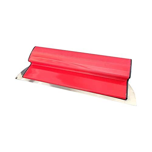 Espátula de alisado de paneles de yeso, cuchillo de masilla de acero inoxidable, raspadores de pared para herramientas de pared pintando Skimming 15.7'40 cm Acabado de espátula Herramienta de espátul