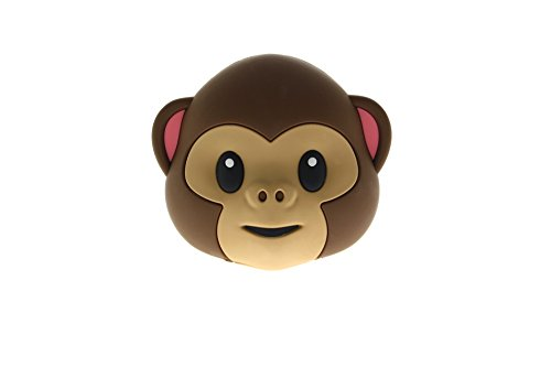 Mojipower Power Bank 5200 mAh Lustige Bunte Design Monkey AFFE