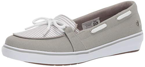 Grasshoppers Women's Windsor Bow Sneaker, Drizzle Canvas, 8