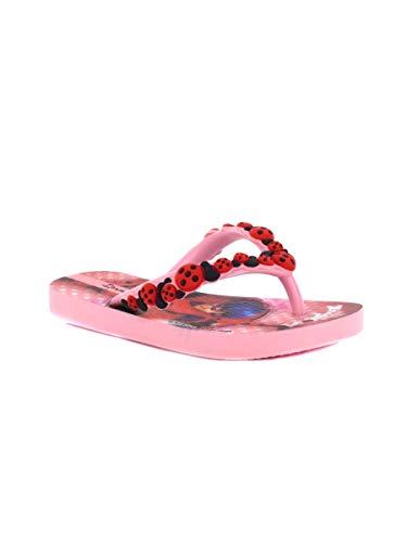 Ipanema Ladybug 26123, Infradito Bambina (33/34, Pink/Pink/Red)