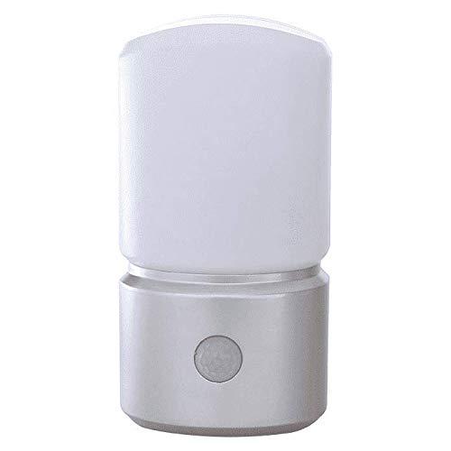 RITOS Batterie LED Sensorlicht mit Bewegungsmelder, Silber