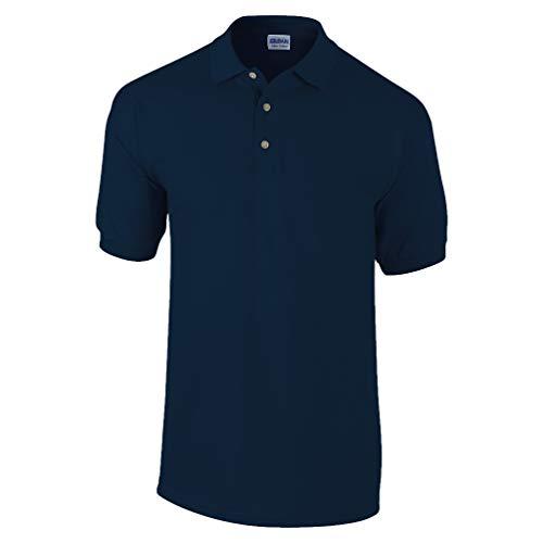 Gildan, Pique-Poloshirt aus Baumwolle Gr. X-Large, navy