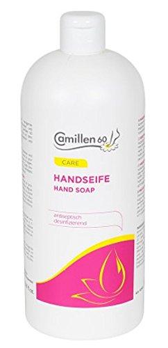Camillen 60 Handseife 1 Liter, Flüssigseife für die Hände, 1000 ml