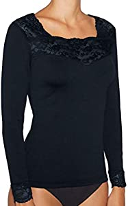 YSABEL MORA - Camiseta TERMICA Manga Larga Mujer Color: Marino Talla: S