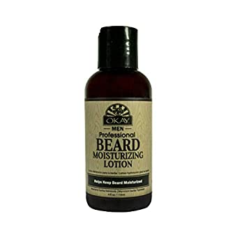 Okay Beard Moisturizing Lotion for Men Helps Soften Hydrate And Moisturize Beard 4 Oz.