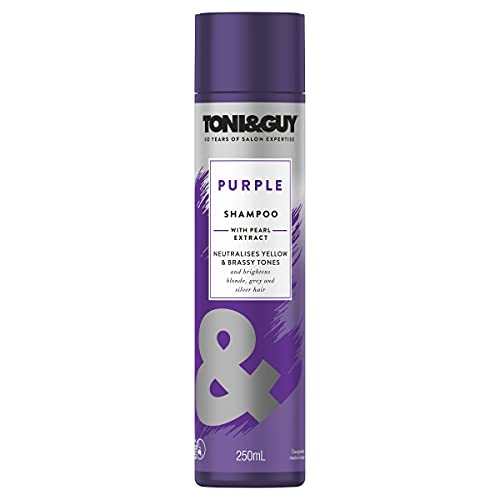 Toni & Guy Purple Shampoo for Blonde Hair, 250ml