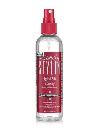 Simply Stylin' Light Silk Spray Pure Silicone Hair Protection from