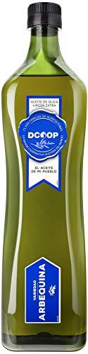 DCOOP Aceite de Oliva Virgen Extra - Aceituna Arbequina y Sabor Frutado, Ideal para Niños y Consumo en Crudo, Especial Cooperativas, 1 litro