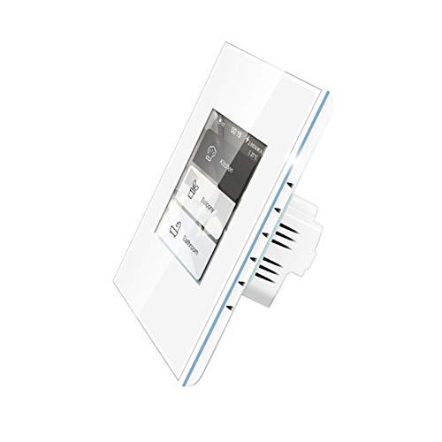 MOZUN Smart Home Control Lcd Touch Interruttore Della Luce Intelligente Interruttore Della Tenda Wireless Interruttore Della Luce 4 in 1 Home Switch Può Essere Utilizzato con Homekit /