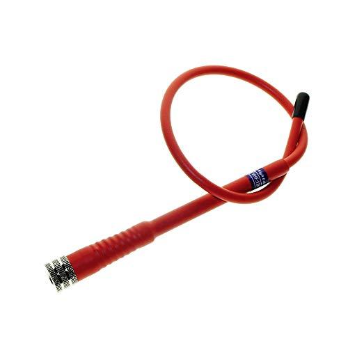 ZQALOVE ZHANGQINGAN Rango Largo 15 '' 38 cm Antena Flexible Ajuste for GPS de Mano Garmin Astro 430 320 900 220 Alpha 50 Alpha 100 Accesorios (Color : Red)