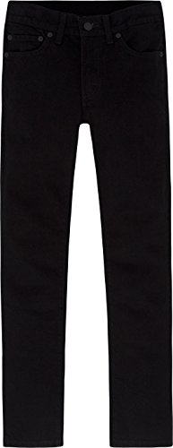 Levi's Boys' Big 510 Super Skinny Fit Jeans, Black Stretch, 20