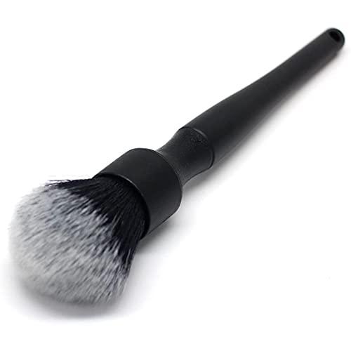 Fauge Cepillo para Detalles SúPer Suave para AutomóVil, Agarre CóModo y Limpieza Sin Rayones, Cepillo para Sombras de Ojos de Belleza, Cepillo para Ruedas, 23 Cm