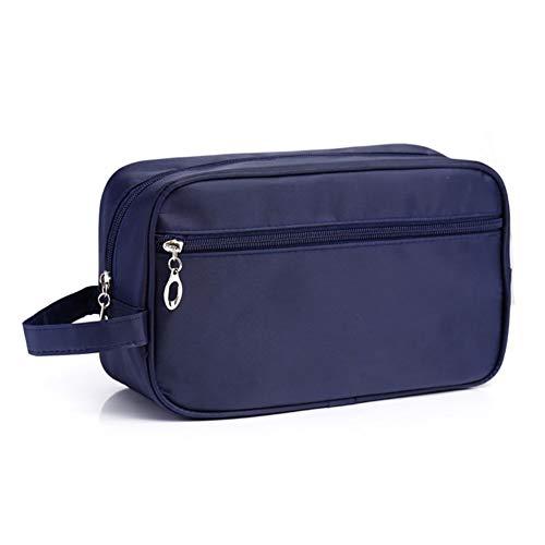 Dybker Neceser de viaje para hombre, impermeable, de gran capacidad, bolsa de lavado, color azul oscuro