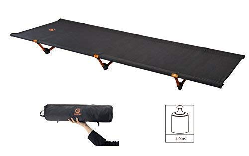 G2 GO2GETHER Camping Cots Tent Bed Ultralight 4.0lb Foldable Portable Optimized Weight up to 260lb
