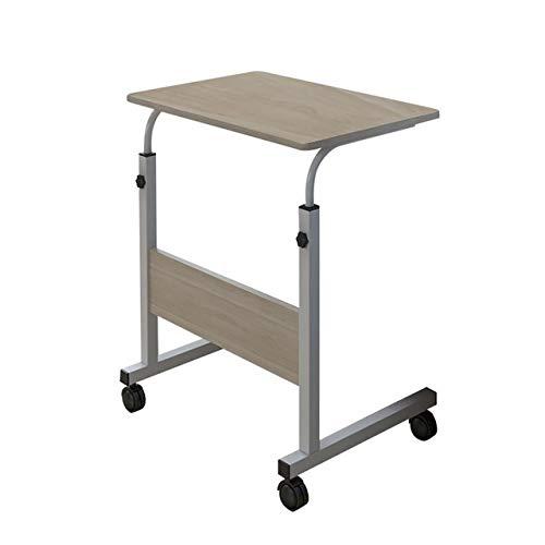 DONDOW Escritorio extraíble para ordenador portátil, escritorio, escritorio, escritorio de pie, color blanco
