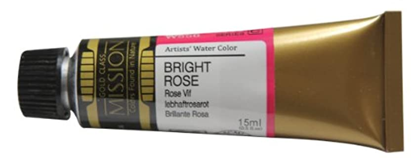 Mijello Mission Gold Class Water Color, 15ml, Bright Rose