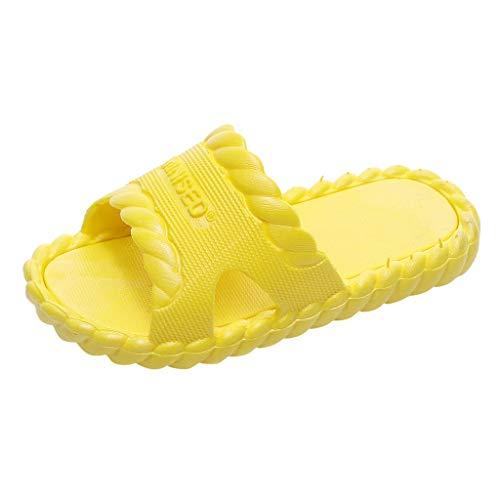 Slipper Kinder Mädchen,Covermason Kinder Badelatschen Junge Sommer Flache Hausschuhe Mädchen Dusch-& Badeschuhe Anti-Rutsch Slipper Sandalen Outdoor