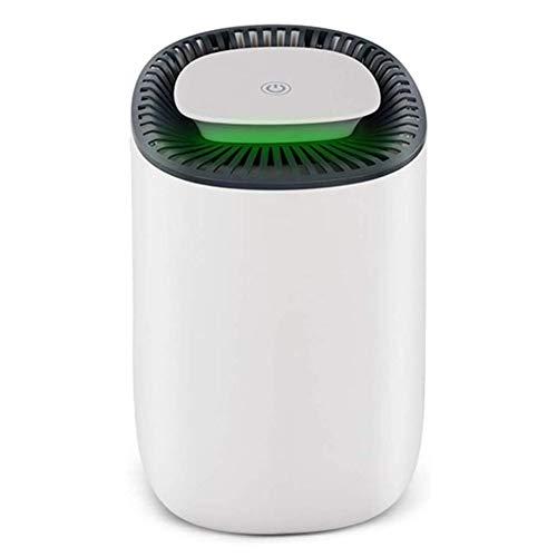 Rteanb 600 ml Mini deshumidificador eléctrico portátil con modo silencioso Secador de aire La humedad se absorbe para el hogar, la cocina, el garaje, adecuado para el dormitorio, el sótano, la cocina,