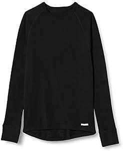 CMP Thermounterwäsche - Top interior térmico para niño, color negro, talla 8 años (128 cm)