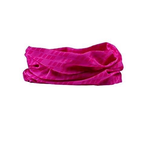 GripGrab Braga de Cuello Ciclismo Running Deporte 8 Colores Tubular Bandana Pañuelo Cabeza Verano Hombre Mujer Calentadores Babeza, Adultos Unisex, Rosa, Talla Única