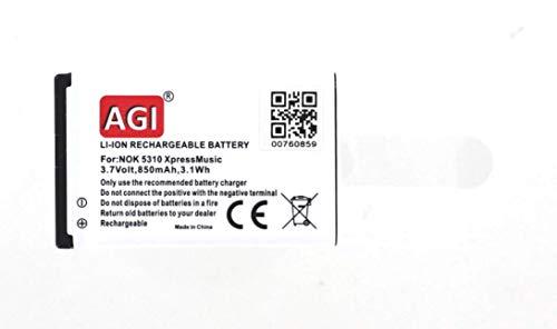 Batería compatible con Teléfono Nokia BL-4CT con Ion de litio/3.7V/600mAh