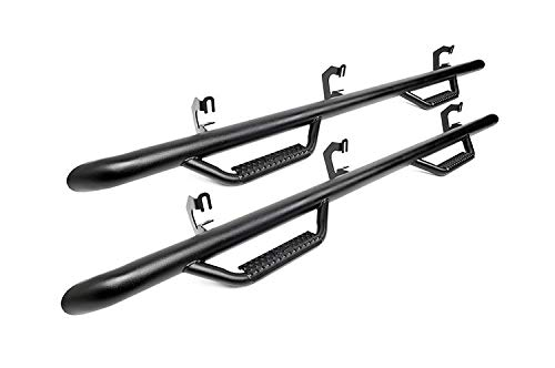 Rough Country W2W Nerf Bar Hoop Steps (fits) 2014-2018 Chevy Silverado GMC Sierra | Crew Cab | 5.8 FT Bed | RCC1489CC